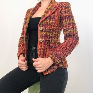 Christian Lacroix tweed colorful blazer